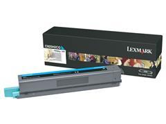 Lexmark C925 Toner, Single Pack, Cyaan