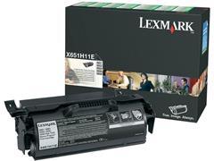 Lexmark X651 Toner, Zwart