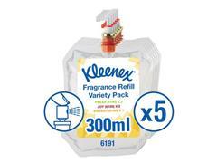 Kleenex® Aircare Variety Navulling, 300 ml, Transparant (doos 5 x 300 milliliter)
