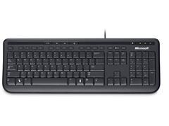 Microsoft 600 Toetsenbord, Bekabeld, USB, QWERTY, Zwart