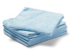 Staples Microvezeldoek, 250 g/m², 35 x 38 cm, 5x blauw (pak 5 stuks)
