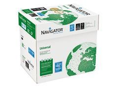 Navigator Universal Papier, A4, 80 g/m², Wit (doos 2500 vel)