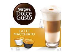 Nescafé Latte Macchiato, Koffiecapsules, 16 stuks (doos 3 x 16 stuks)