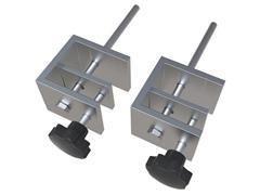 Nobo Bureauklemmen voor Premium Plus PVC Bureauscherm (pak 2 stuks)