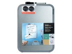 Nobo Slimline Whiteboard, Magnetisch, Gelakt Staal, 220 x 280 mm (doos 12 stuks)