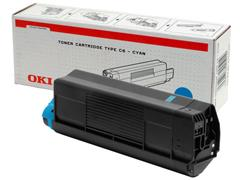 OKI 42127407 Toner, Single Pack, Cyaan