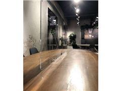 Plexio Transparant Baliescherm, Plexiglas, 1800 x 650 mm