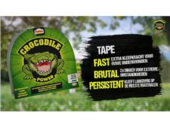 Pattex Crocodile Power Tape 50 mm x 30 m, Zilver (rol 30 meter)