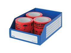 Pressel Open Voorraaddoos, 305 x 200 x 110mm, blauw (pak 20 stuks)