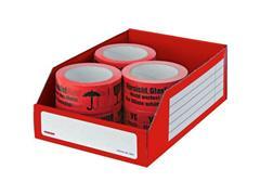 Pressel Open Voorraaddoos, 305 x 200 x 110mm, rood (pak 20 stuks)