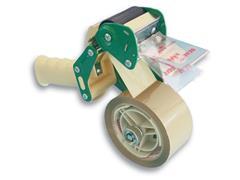 Pressel Extra Veilig Verpakkingstapedispenser, Met Rem en Veiligheidsmes, 50 mm