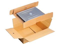 Pressel Verzenddoos tbv Laptop wikkelverpakking (pak 10 stuks)