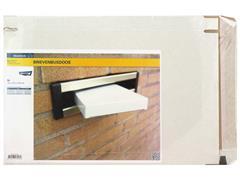 RAADHUIS Brievenbusdoos 25 x 35 cm wit 650 gram duplex 5 stuks (pak 5 stuks)