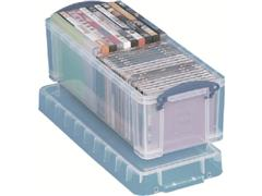 Really Useful Box Stapelbare opbergdoos transparant 6,5 l 430 x 180 x 160 mm