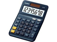 Casio MS-8E Bureaurekenmachine, 8-cijferig, Marineblauw