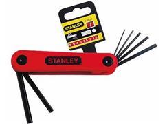 STANLEY Inbusset, 7-delig, 2.5-10mm, Rood