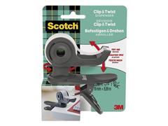 Scotch® C19 Plakbandhouder, Grijs met 1 rol Magic™ Plakband, 19 mm x 8,89 m, Onzichtbaar
