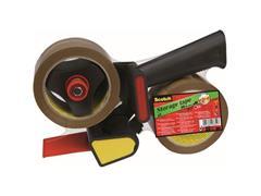 Scotch® Verpakkingstapedispenser H180 Incl. 2 rollen verpakkingstape (set 3 stuks)