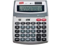 Staples Medium 560 Bureaurekenmachine, 12-Cijferig, Zilver