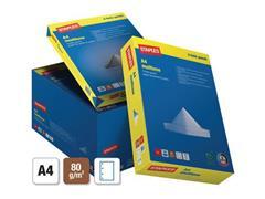 Staples Multiuse papier A4, 80 g/m², 4-gaats (doos 5 x 500 vel)