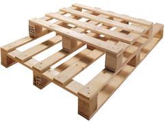 Stevige, eenmalige pallets van hout 600 x 800 mm (pallet 42 stuks)