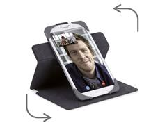 Targus SafeFit Rotating Universal flip cover 9 - 10 inch, zwart