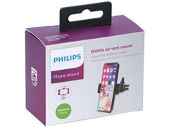 Philips Telefoonhouder Auto, Ventilator montage, Zwart