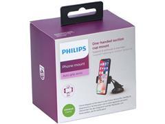 Philips Telefoonhouder Auto, Zuignap montage