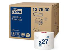 Tork Advanced T6 Toiletpapier, 2-laags, Wit (pak 27 x 100 meter)
