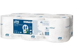 Tork Smartone T8 Toiletpapier, 2-laags, 1150 vel, Wit (pak 6 x 207 meter)