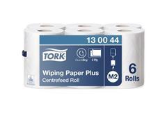 Tork Wiper mulitrol 420 23,5 cm x 125 m voor centerfeeddispenser 2 laags, Advanced (doos 6 pakken)