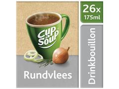 Unox Cup-a-Soup Rundvlees, Drinkbouillon, 175 ml (doos 26 stuks)