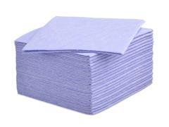 Staples Multifunctioneel, beperkt herbruikbaar reinigingsdoekje, niet-geweven, 100 g/m², 38 x 38 cm, 25x blauw (pak 25 stuks)