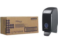 Aquarius (Kimberly-Clark) AQUARIUS*-handzeepdispenser, 1 l, 235 x 116 x 110 mm, zwart