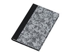 ATLANTA Excellent Notitieboek, Gelinieerd, 210 × 165 mm, 144 blz, 80 g/m², Grijs (pak 5 x 144 vel)