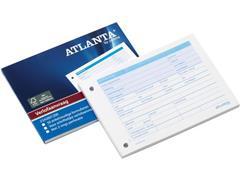 ATLANTA Verlofaanvraagboek, A6 Dwars, 2-gaats Perforatie, Wit (blok 50 stuks)