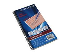 ATLANTA Notitieboek met Spiraal, 125 × 74 mm, 40 bladzijden (pak 5 stuks)