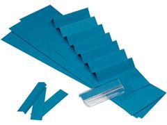 ATLANTA Alzicht ruiterstrook 65 mm, blauw (pak 325 stuks)