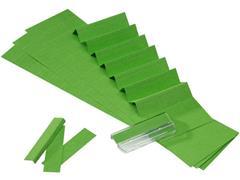 ATLANTA Alzicht ruiterstrook 65 mm, groen (pak 325 stuks)