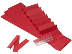 ATLANTA Ruiterstroken voor Alzicht Ruiters, Karton, 13 × 65 mm, Rood (pak 325 stuks)