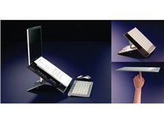 Bakker Elkhuizen Ergo-Q220 mobiele laptophouder Aluminium