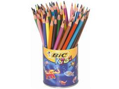BiC Kids Ecolutions Evolution Kleurpotloden, Assorti (pak 60 stuks)