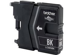 Brother LC-985 Inktcartridge, Zwart