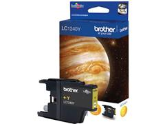 Brother LC-1240 Inktcartridge, Geel