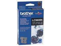 Brother LC-980 Inktcartridge, Zwart