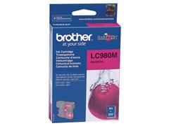 Brother LC-980 Inktcartridge, Magenta