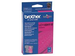 Brother LC-1100HY Inktcartridge, Magenta
