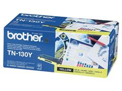Brother TN-130Y Toner, single pack, geel