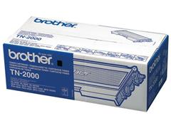 Brother TN-2000 Toner, hoog rendement, single pack, zwart