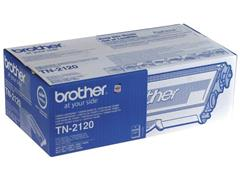 Brother TN-2120 Toner, hoog rendement, single pack, zwart
